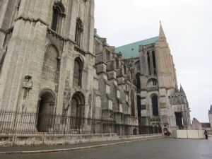 three storey flying buttresses