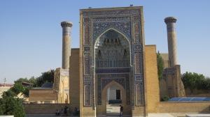 Tamerlaine's mausoleum.