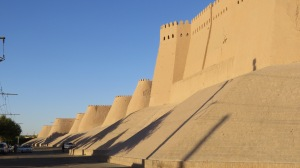 The walls Of Khiva.
