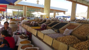 Spices in the bazaar.