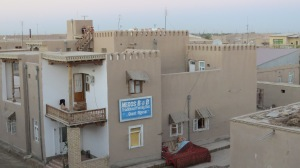This was my B and B in Khiva.