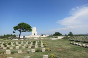 Lone Pine War Cemetery.