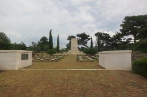 A view of the Hill 60 Memorial.