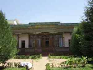 The small tea house in Dushanbe.