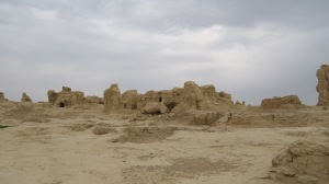 City ruins.