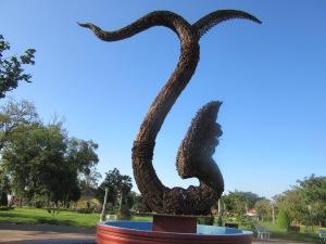 The AK 47 statue.