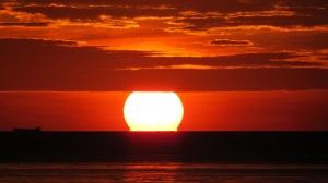 The sun set on 2014. Happy 2015.