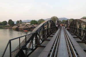 On the Bridge on the River Kwai.