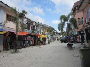 Street scene. Kuching.