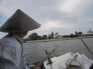 On the Sarawak River. Kuching.