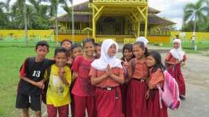 School's out in Pontianak.