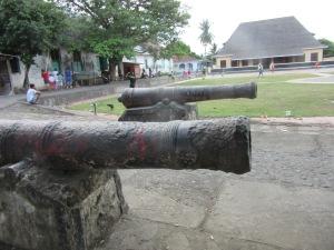 Canons on Ternate.