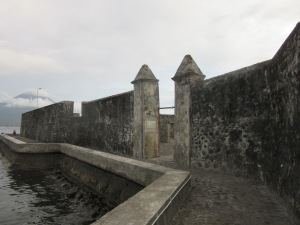 Dutch fort on Ternate.