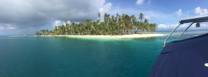 Typical Island in San Blas