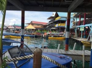 Bocas del Torro waterfront.