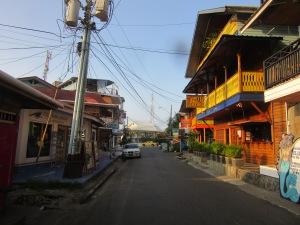 Main street Bocas.