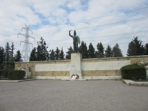 The Memorial for the Battle of Thermopylae.