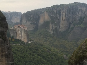 A monastery at Meteora.